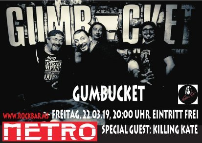 Gumbucket Plakat 2019 rb
