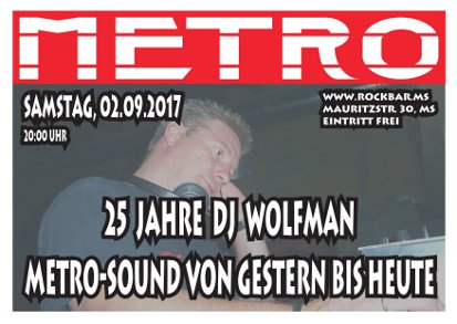 25 Jahre Wolfman rb